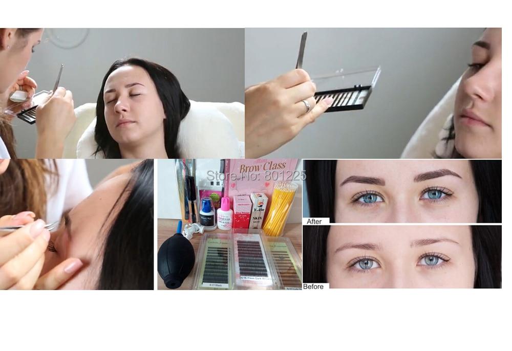 Aliexpress Buy Eyebrow Extension Kitsall Eyebrow Extension