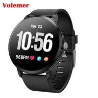 Volemer V11 Smart watch IP67 waterproof Tempered glass Activity Fitness tracker Heart rate monitor BRIM Men women smartwatch