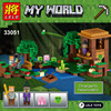 508PCS New My World Building Blocks Sets The Witch S Cabin Compatible LegoINGLYS Minecrafter Construction Block