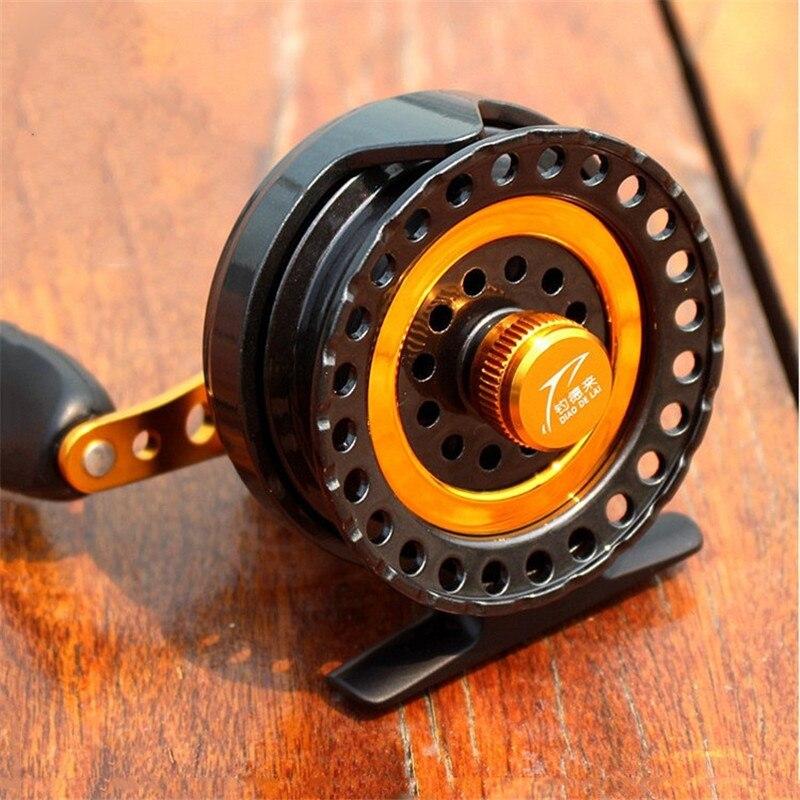 2016 New Raft Wheel Fly Fishing Reel Carp Fishing Equipment CNC Rocker Arm 6 1Bearings Micro