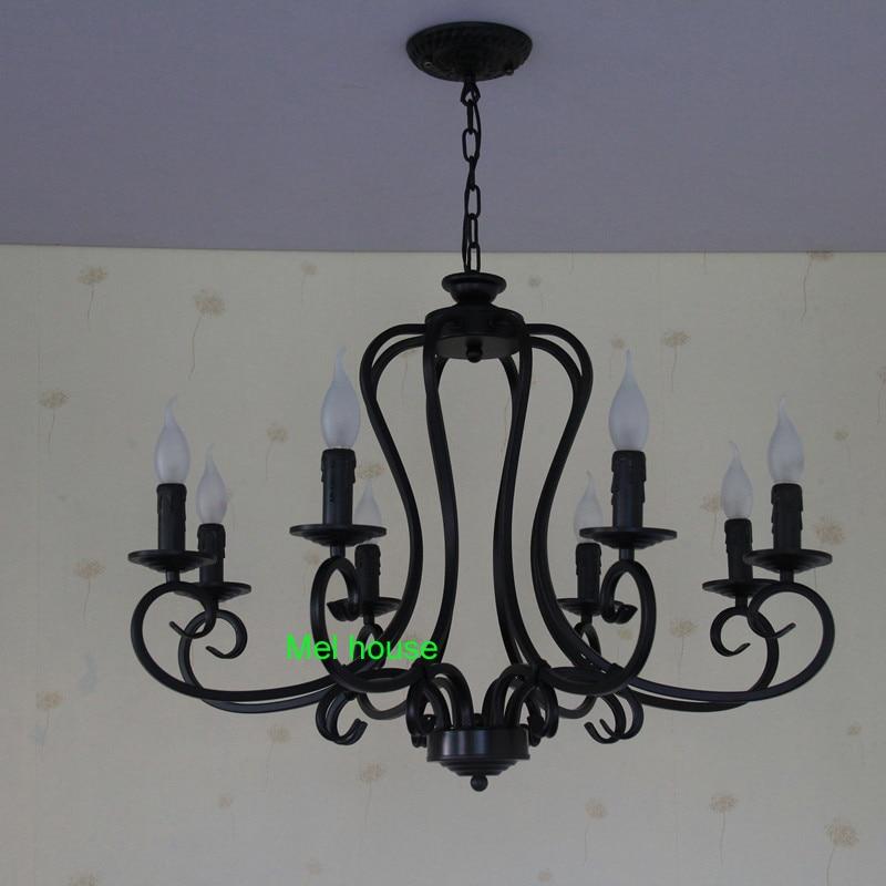 lampe retro kronleuchter beleuchtung industrie glühbirnen lampe - Innenbeleuchtung - Foto 2