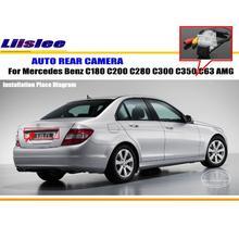 Liislee автомобиля Камера для Mercedes Benz C180 C200 C280 C300 C350 C63 AMG/заднего вида Камера/NTST PAL /номерной знак лампа OEM