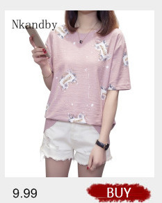 Nkandby Plus size Ladies Tops Summer Korean Women Clothing Slim Cotton Short sleeve 5XL 4XL Big size T shirt Regular Tees Female 54