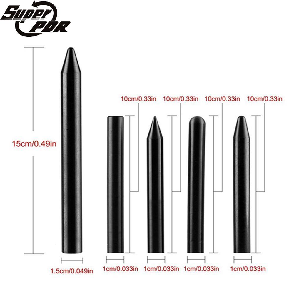 Super PDR Tools Black Nylon Pen Tap Down Pen Paintless Dent Removal Pen Us For Dent Repair Tool Auto Hand Tools цены