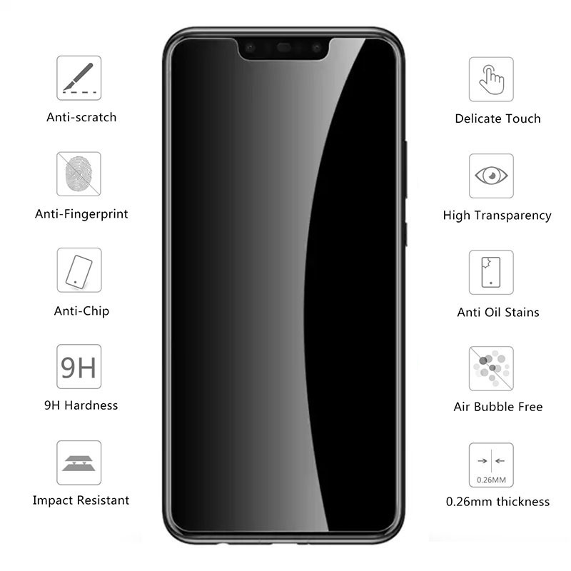 Image 4 - Tempered Glass For Xiaomi Redmi Note 5 6 Pro 5a 6a 4a 4x 4 X A Protective Glas On The Ksiomi Red Mi Not Notes A4 A5 A6 X4 Note5-in Phone Screen Protectors from Cellphones & Telecommunications