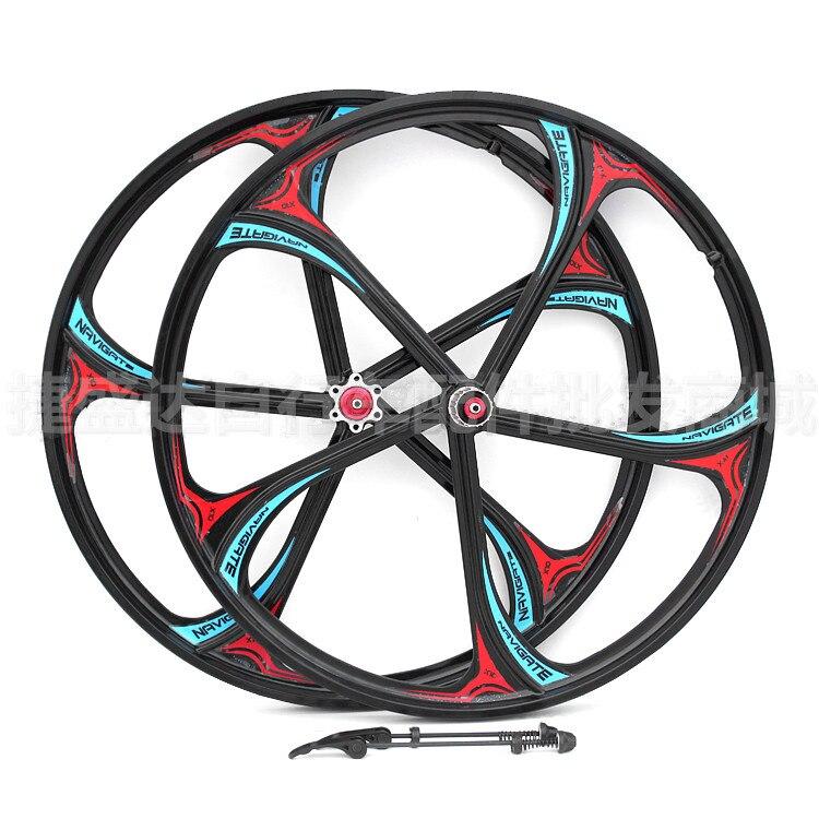WZ05 disc wheels (NAVIGATE X10) magnesium alloy 2 Peilin Bearing / 26-inch mountain bike one wheel new mountain bike 26 disc brake wheel 27 5 inch magnesium alloy bearing perlin hub