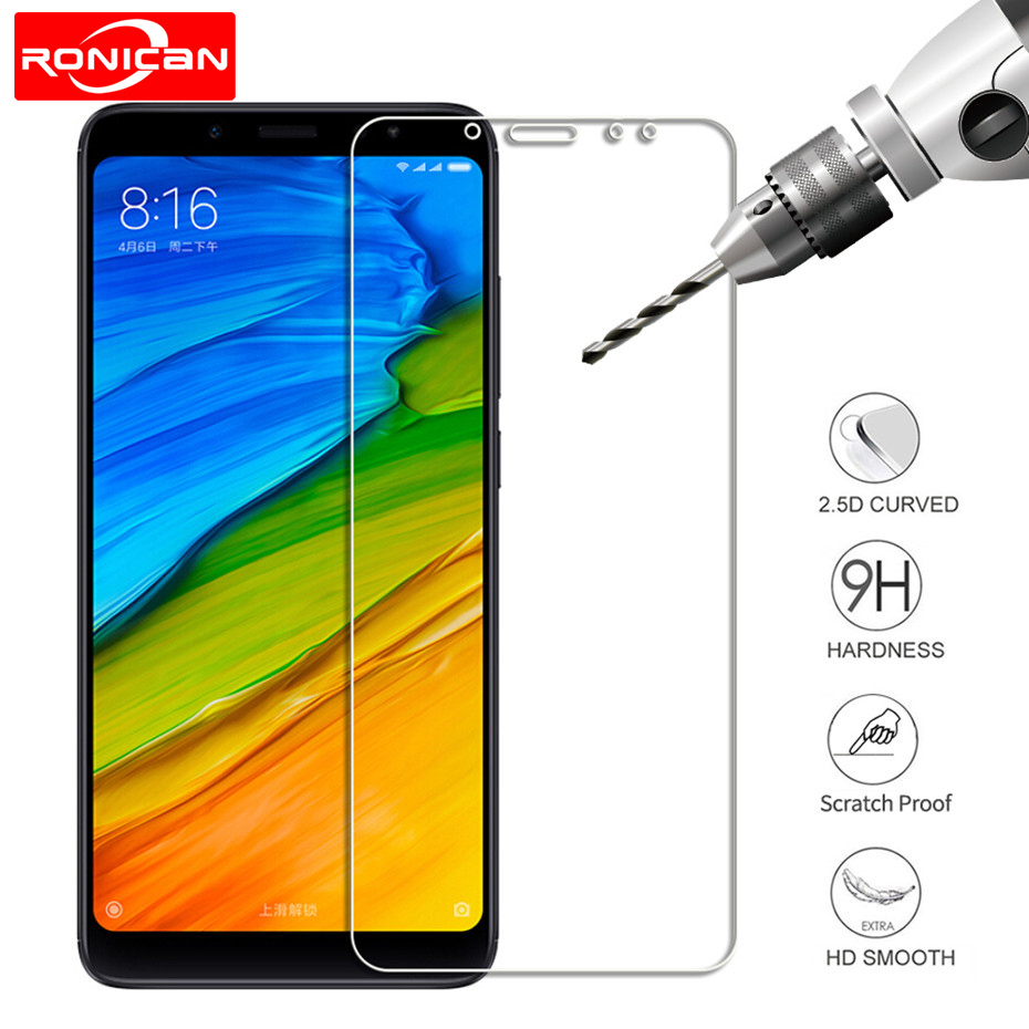 Screen protector for xiaomi redmi 5 5 plus 4X 4A 5A 6A tempered glass for xiomi redmi 6 6 pro Note 5 note 4x protective film-in Phone Screen Protectors from Cellphones & Telecommunications