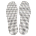 Pair of Magnetic Therapy Thermal Self-heating Foot Pad Foot Cushion Insoles (White)