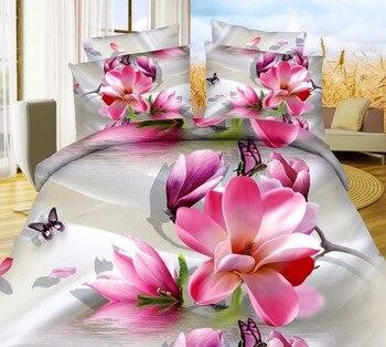 BeddingOutlet 3D Wedding Decor Bedding Set Bedspread Qualified Bedclothes Unique Design No Fading Duvet Cover Bedspread Queen
