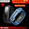 GPS Smart Band ID107 Plus ID107 HR Fitness Bluetooth Bracelet Activity Sports Tracker Wristband With Heart