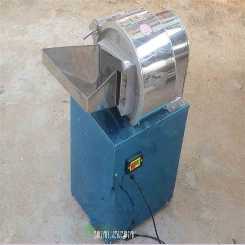 QT-300 Centrifugal electric slice cutting machine Vertical potato yam Fruit slicer Commercial stainless steel cutting machine