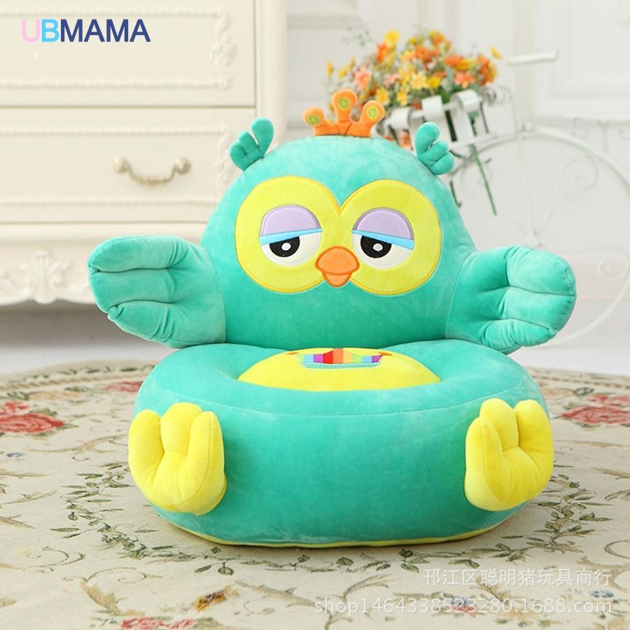Large size 45*40*25c'm cartoon children small sofa chair lazy chair backrest tatami plush toys give children baby gift ideas children high end kitchenware chair toys
