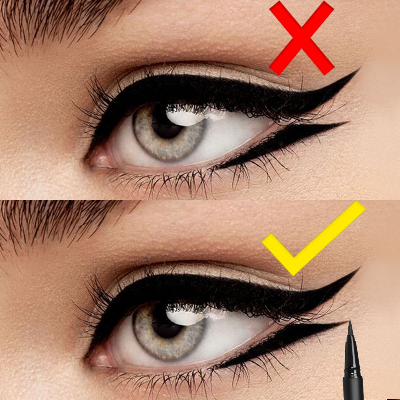 Image 1 - FOCALLURE 24 Hours Long Lasting Liquid Eyeliner Pen Professional Eye Liner Pencil Dry Fast Eyeliner-in Eyeliner from Beauty & Health
