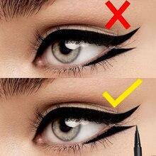 FOCALLURE 24 saat uzun ömürlü sıvı Eyeliner kalem profesyonel göz kalemi kalem kuru hızlı Eyeliner