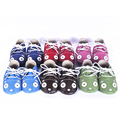 Cartoon Cat First Walkers Genuine leather Baby shoes Toddler Lace-up Baby moccasins Baby boys Shoes Free shipping