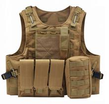 Airsoft Military Tactical Vest Molle Combat Assault Plate Carrier Tactical Vest 7 Colors CS Outdoor Clothing Hunting Vest multifunction cs tactical vest military adjustable combat assault plate carrier hunting field vest outdoor jungle equipment