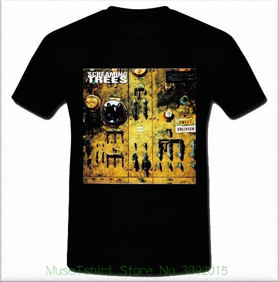 Screaming Trees Sweet Oblivion Grunge Band Mad Season T-shirt Tee S M L Xl 2xl Unisex Fashion T Shirt