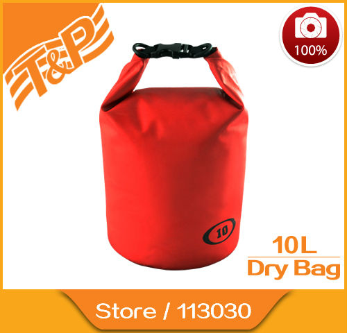 2017 New 10l Outdoor Sports Waterproof Dry Bag Canoe Kayak Rafting Cycling Beach 10 Liter
