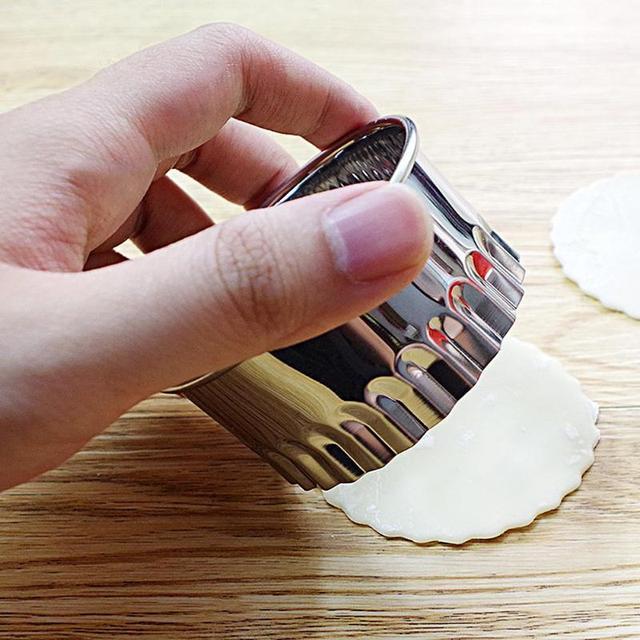 Steel Pancake Mold 3 Pieces Set