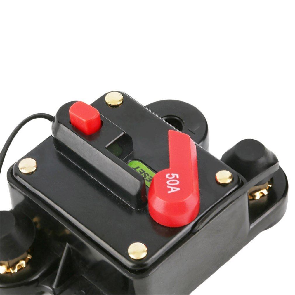 300A Car Audio Inline Circuit Breaker Fuse For Installation Parts 12V Protectio