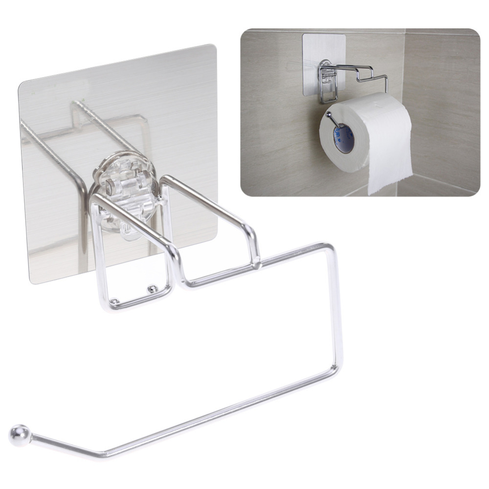 Toilet Paper Holder Seamless Stainless Steel Roll Holder Bathroom Towel Racks Paper Towel Holder Storage Accessories everso wall mounted toilet paper holder with shelf stainless steel toilet roll paper holder tissue holder bathroom accessories