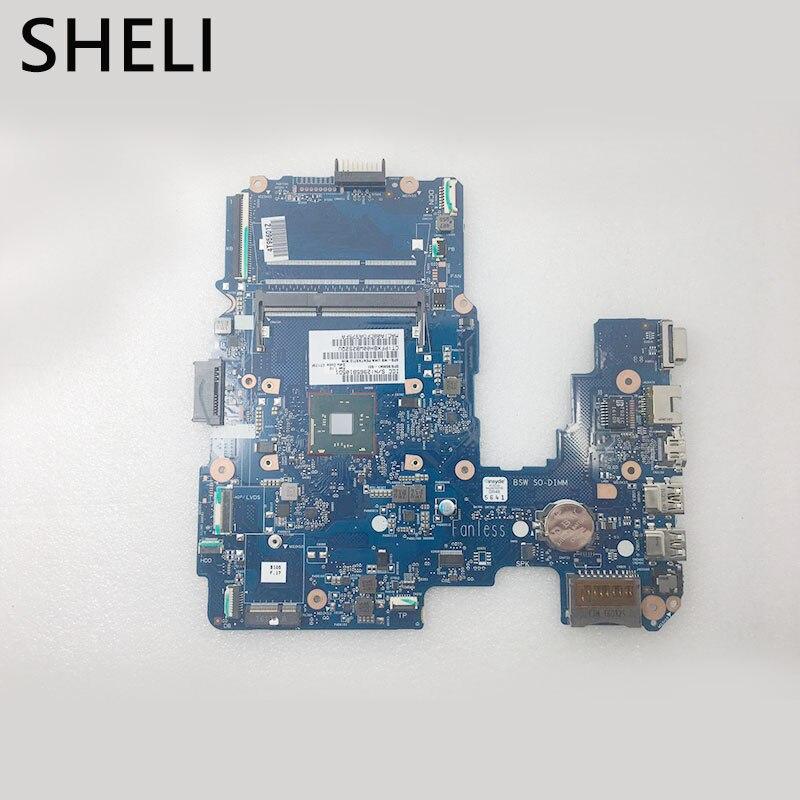 SHELI  858041-601 N3710 14 AM motherboard For HP 14-AM Laptop Motherboard tested 100% workSHELI  858041-601 N3710 14 AM motherboard For HP 14-AM Laptop Motherboard tested 100% work