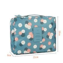 Zipper Makeup bag Cosmetic bag dot beauty Case Makeup Sets Organizer Storage Travel Wash cosmetic