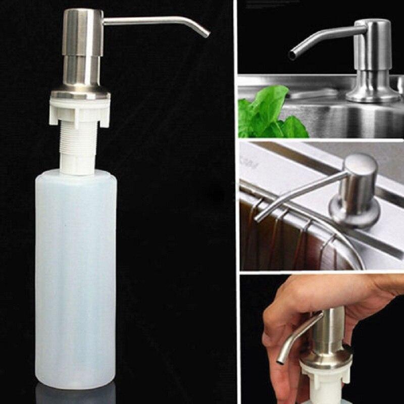 Nett 1 Pc 304 Edelstahl Hand Seife Dispenser Düse Für Bad Küche Schaum Flüssigkeit Seife Produkte Düse Zubehör Liefert Bad Hardware