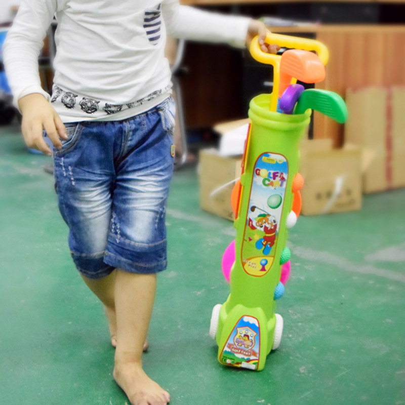 High Quality Plastic Childen Golf Suits Sport Toy for Children Educational for Child Adult Indoor Toy Outdoor Fun Sports Toys