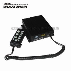 Coxswain Elettronico 200W Auto Sirena, 7 Toni con Microfono, Volume Regolabile, allarmi di Sicurezza CJB-200Z (Senza Altoparlante)