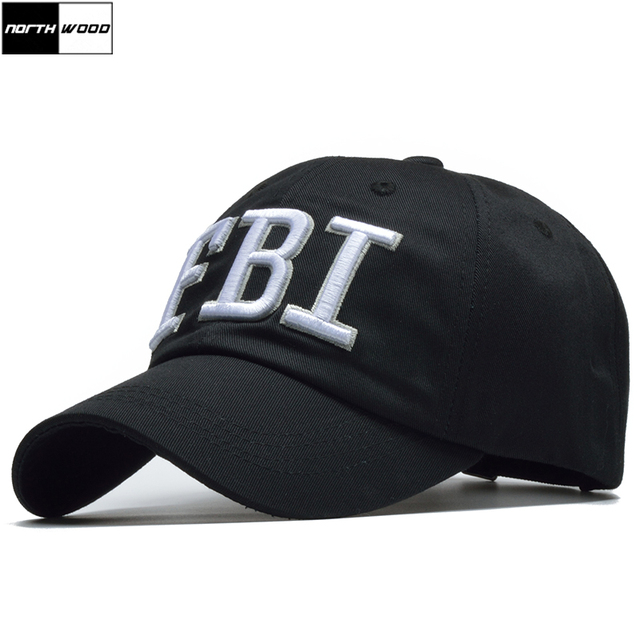 3e05920c1bf817 2018 FBI Caps Outdoor 5 Panel Baseball Cap Brand Snapback Hat Bone FBI Snapback  For Men High Quality Tactical Cap Size 56-59cm