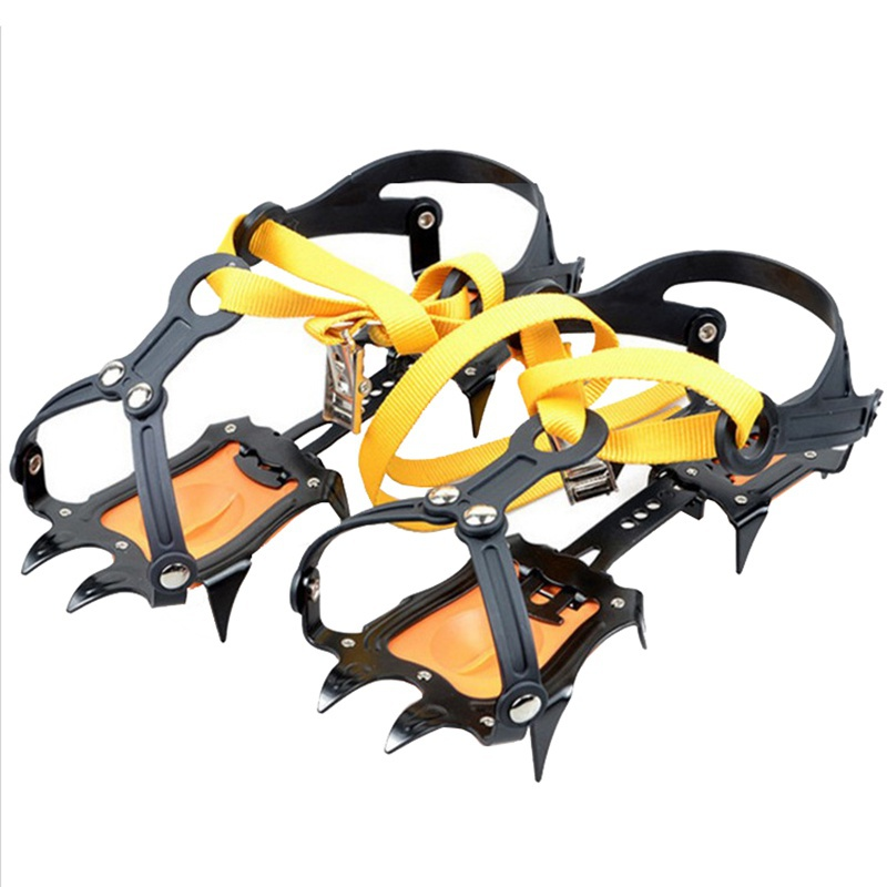 Camping equipment outdoor outdoor gadget multi function multi tool10 tooth cramps strengthen anti skid