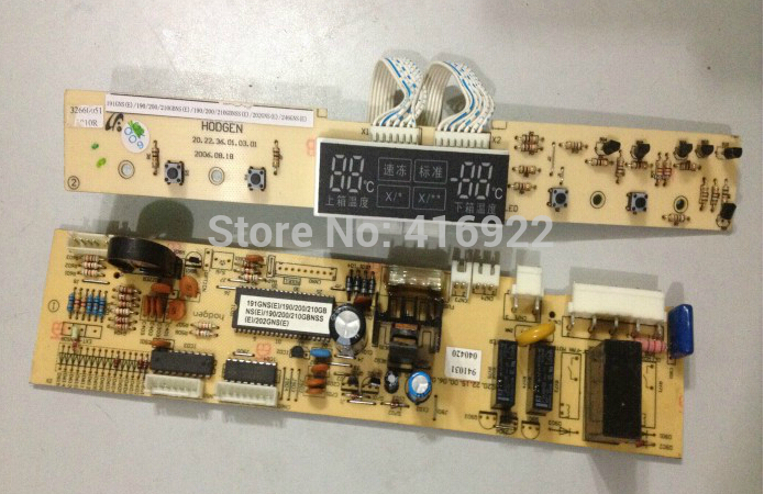 95% new good working 100% tested for  refrigerator pc board Computer board BCD-191GNS(E)/190/200/210GBNS(E)/20211 on sale 95% new for refrigerator computer board circuit board bcd 559wyj z zu bcd 539ws nh driver board good working