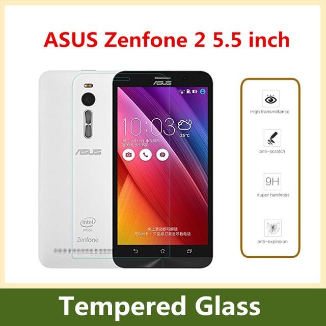 9 H 2.5D Премиум Закаленное Стекло для Asus Zenfone 2 ze551ml 5.5 inch взрывозащищенные Экран протектор Плёнки Для Zenfone 2
