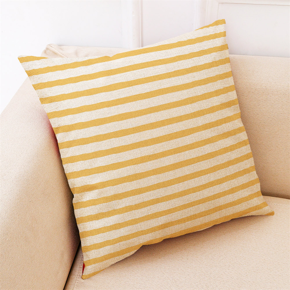 Image 2 - 2018 Fashion Pillow Cover 45*45cm Sofa Bed Home Decor Cushion Cover Simple Geometric Multicolor Comfortable Throw Pillowcover-in Cushion Cover from Home & Garden
