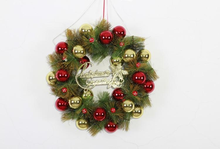 aliexpresscom comprar 36 cm pared puerta colgando feliz navidad guirnalda guirnaldas guirnaldas de navidad rbol de navidad bolas de adorno de casa