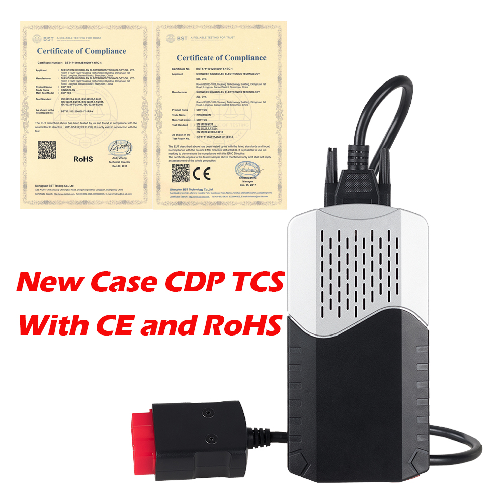 Image 3 - 2PCS CDP TCS pro plus V3.0 Green board TCS CDP Bluetooth 2015 R3 with keygen for CAR/TRUCK obd2 Diagnostic Tool as Multidiag MVD on