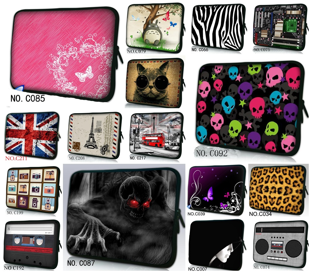 2016 Hot Fashion New Computer Bag Laptop bags For MacBook Pro /Air 11 12 13 15 inch laptop protective sleeve 11.6 13 15.4 bag image