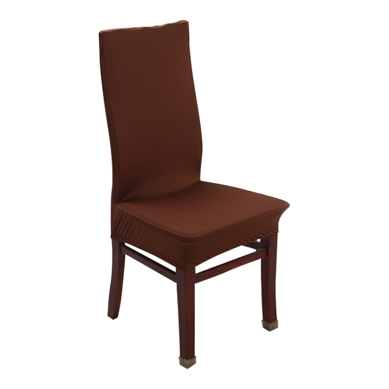 White Dining Room Chair Covers: 1 Piece Chair Covers Spandex Dining Stretch Chair Covers