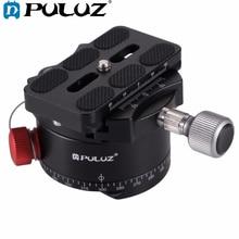 PULUZ סגסוגת אלומיניום אינדקס Rotator פנורמי כדור ראש עם צלחת שחרור מהירה למצלמה חצובה ראש