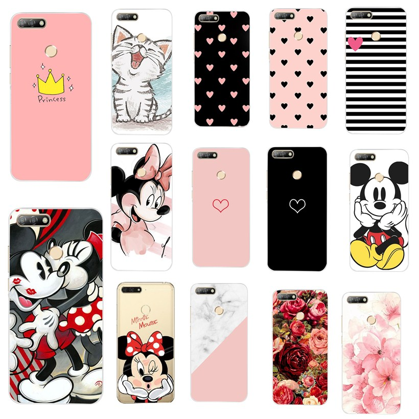 For Huawei Nova 5T Honor 20 Case For Huawei Y6 PRIME 2018 P30 Pro Fundas Protective Cover For Huawei Y 6 2018 Prime Coque Case