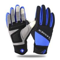 ESSEN Bike Glove Full Finger Luva Bike Cycling Gloves Men Women Long Mountain Biking Gloves SRB Gel Pad Motorcycle Warm Gloves