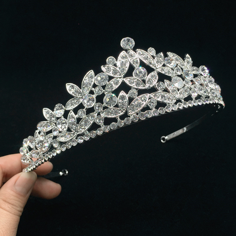 New-Fashion-Women-wedding-Tiara-Crowns-Queen-Princess-Pageant-Party-Crown-Bridesmaids-rhinestones-Wedding-Hair-AccessoriesRE756 (1)