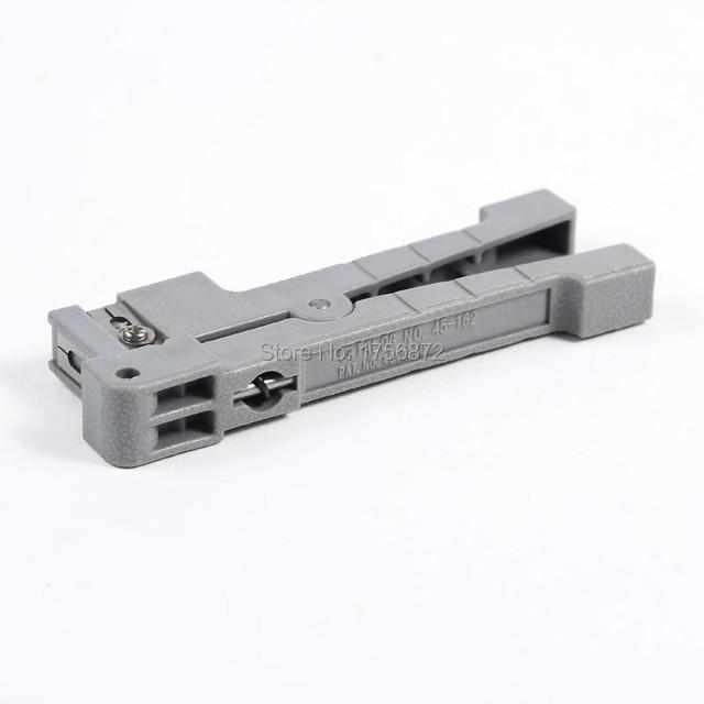 Cable de fibra Óptica Stripping Tool Fibra Óptica Stripper Ideal 45-162 Cable Coaxial Strippe