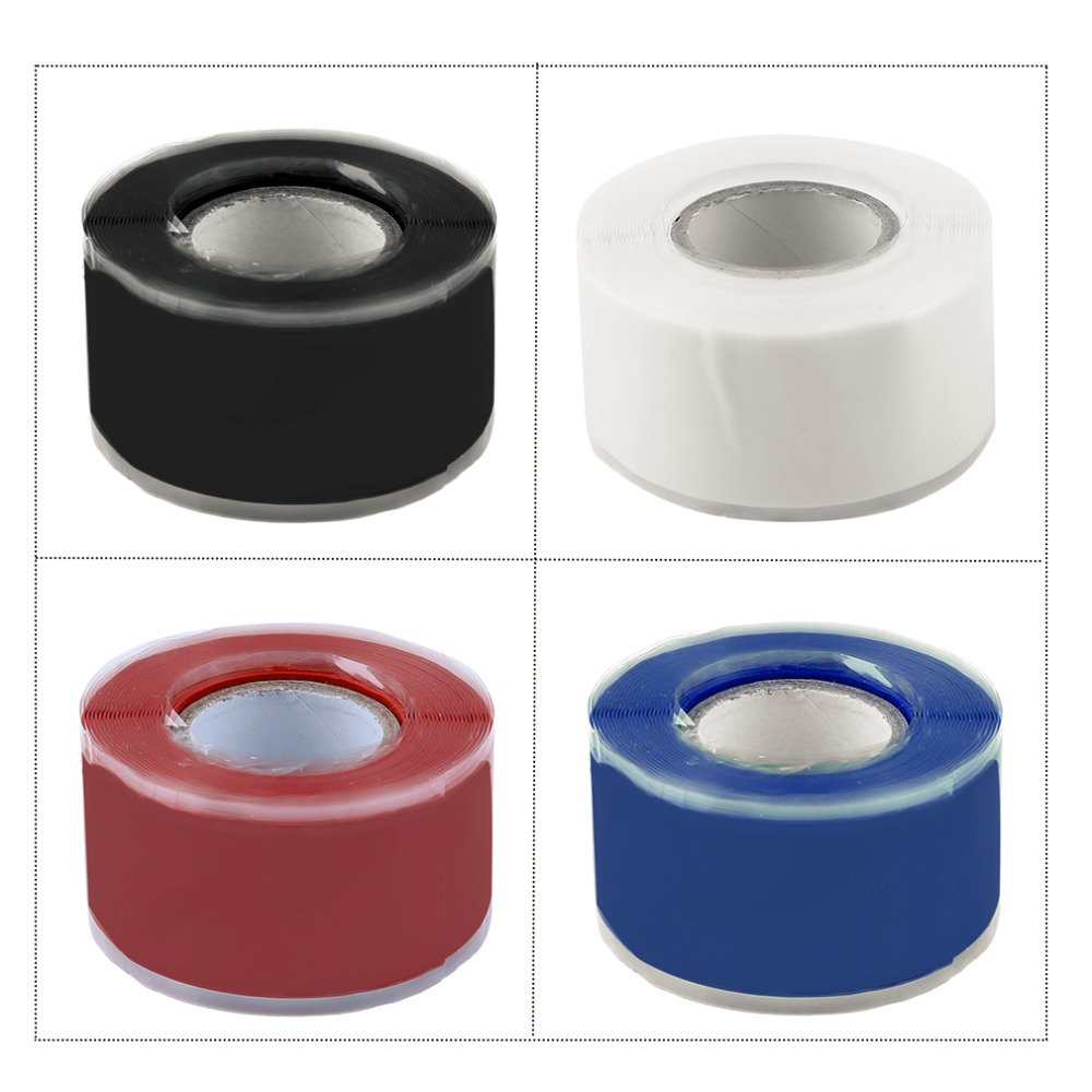 3M Useful Waterproof Silicone Performance Repair Tape Bonding Self Fusing Wire Hose Repairing Tape Red/White/Blue/Black Wholesal цена