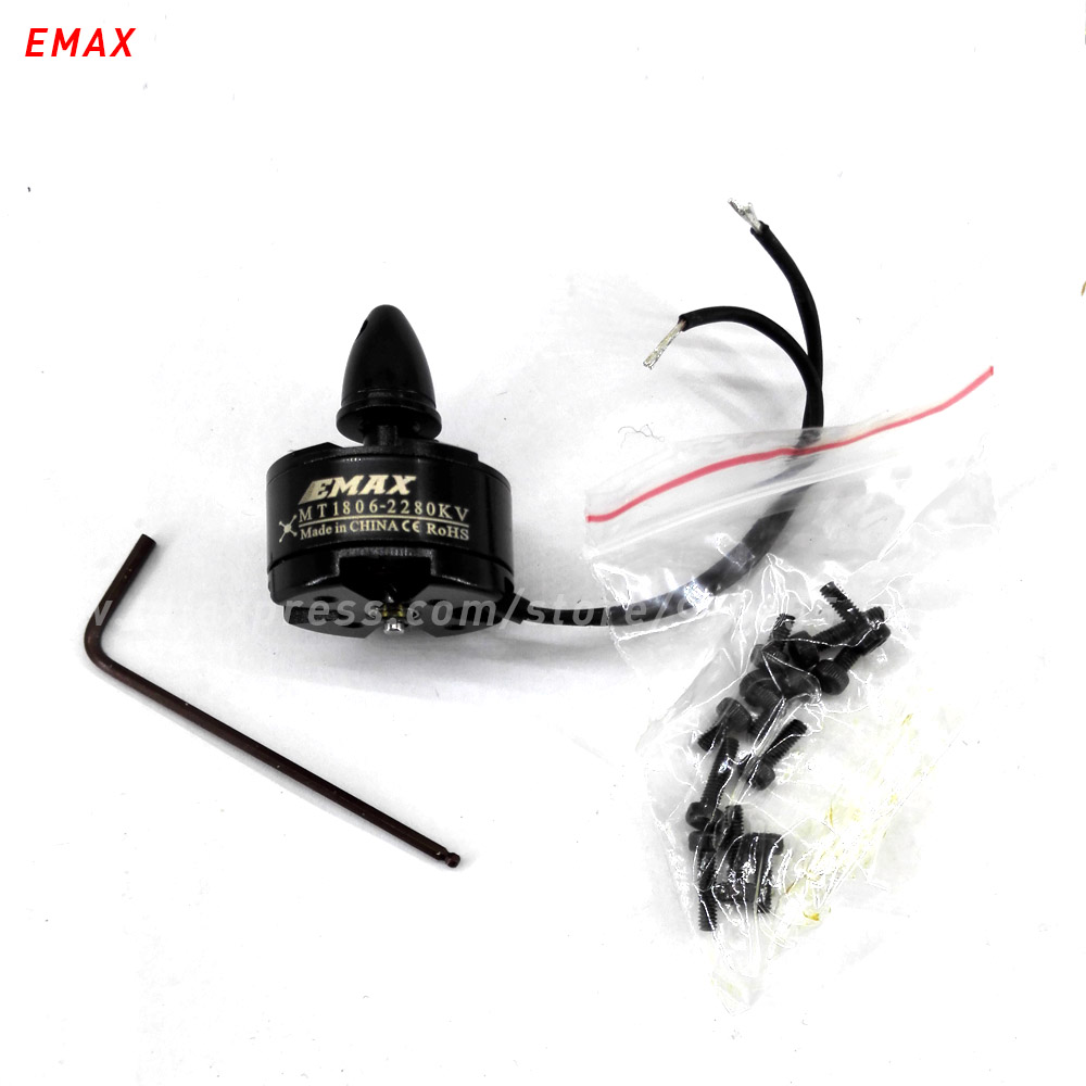 EMAX MT1806 font b rc b font brushless motor 2280kv quadcopter multi axis copter 2mm shaft