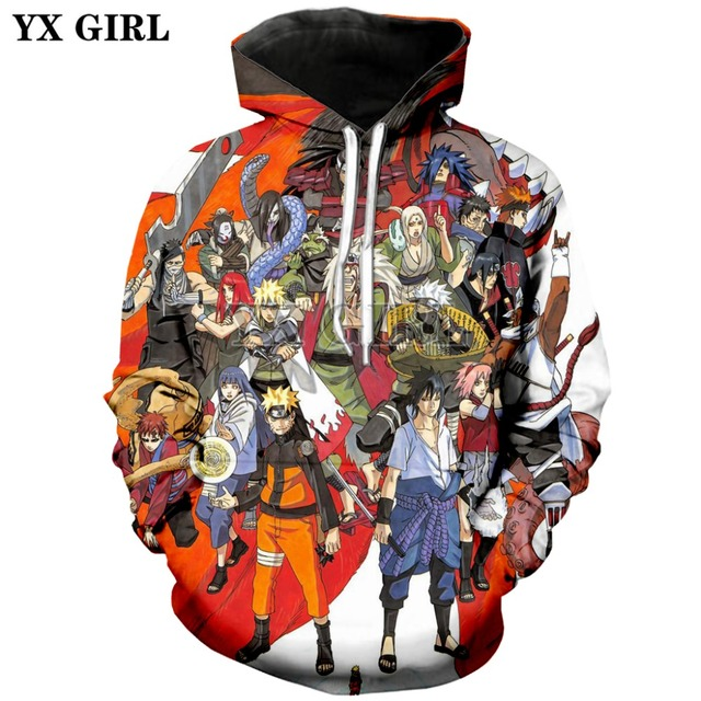 PLstar Cosmos Anime Naruto harajuku Comics Tops Tees 3D Print Hoodie/Sweatshirt Unisex Good Quality Top Cartoon Japanese-8 1