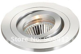 Led Ceiling Lighting Fixture Without Lamp Source Thickness Body Beautiful Surface With Gu10 Socket