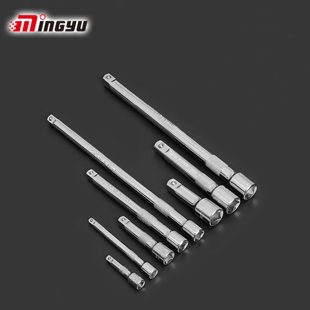1/4 3/8 1/2 Drive Extension Bar Socket Cr-V 50-250mm Plug Removing Drive Tools Adapter Extension Ratchet Wrench Hand Tool mainpoint 1 4 1 2 3 8 e socket sockets set cr v torx star bit combination drive socket nuts set for auto car repair hand tool