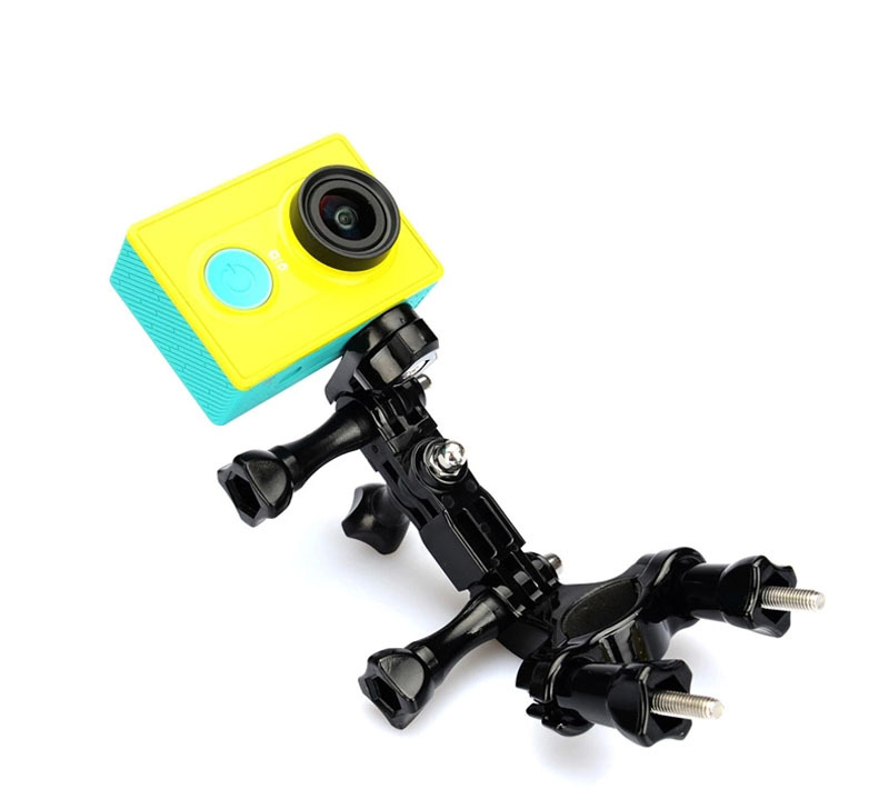 Bike Handlebar Seatpost Mount Ways Pivot for Sony Action Cam AS20 AS200V FDR-X1000V W 4K AS30V AS100V AZ1 Mini for Xiaomi yi